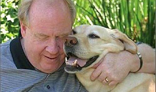 Günün kahramanlarından biri de Roselle adındaki bir rehber köpekti.